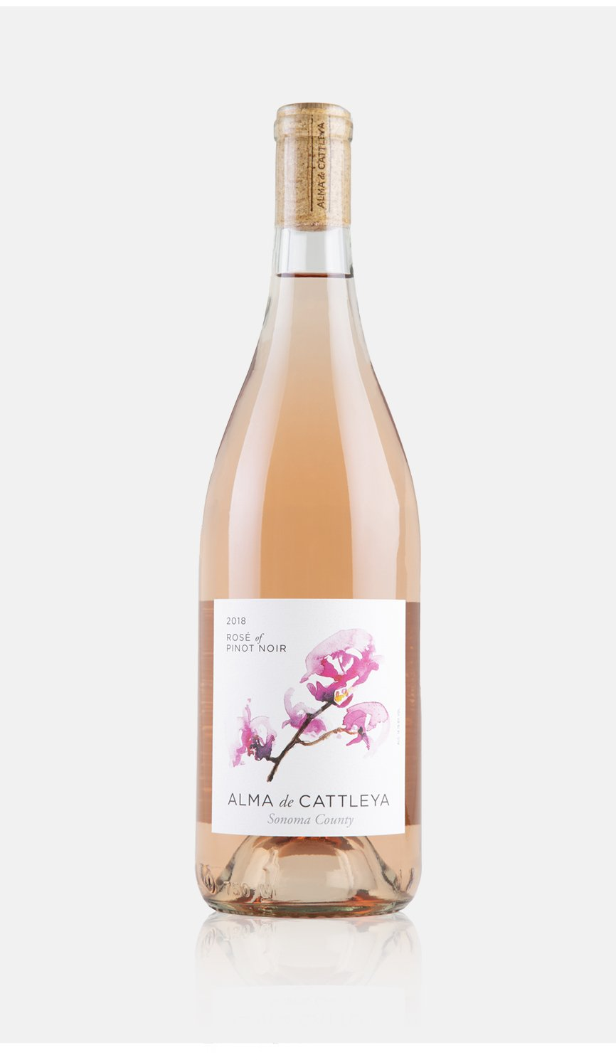 2018 Rose of Pinot Noir Bottle